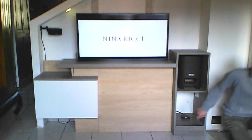Meuble TV LIFT (meuble ascenceur)